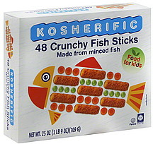 Kosher Kosherific Crunchy Fish Sticks