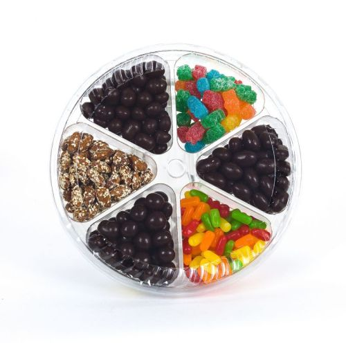 Kosher Park East Mixed Candy And Nuts (6 sectional)