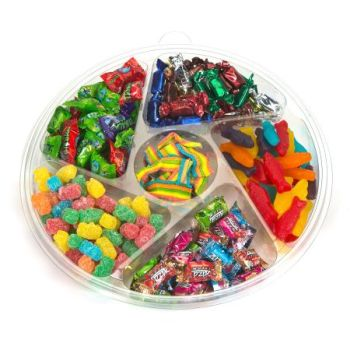 Kosher Oneg 6 Sectional Candy