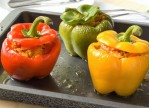 Kosher Stuffed Peppers with Beef