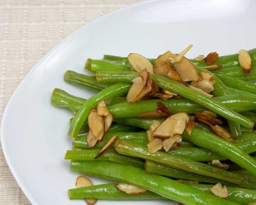 Kosher String Bean Almondine