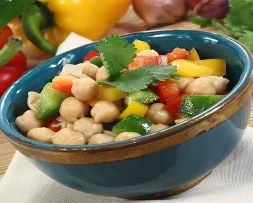 Kosher Chick Pea Salad
