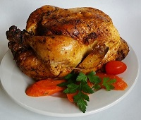 Kosher Oven Roasted Chicken