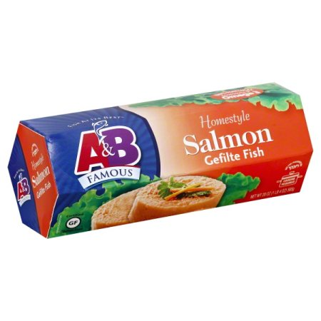 Kosher A&B Salmon Gefilte Fish