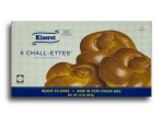 Kosher Kineret 6 Chall-Ettes (Ready-to-Bake Challah Rolls)